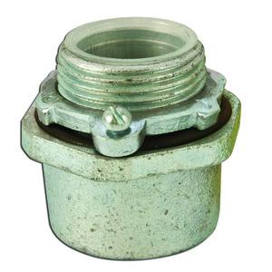 """Appleton HUB-50B 1/2"""" Steel; Straight Insulated Conduit Hub"""