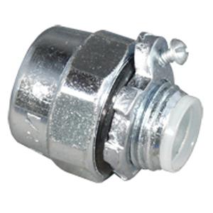 "Appleton HUB-75B Conduit Hub, Type: Bonding, Size: 3/4"", Insulated, Steel"