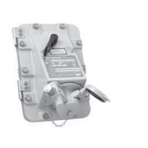 Appleton JBR6034150 Switched Receptacle, 60A, 4P3W, 600V, Dead Front, NEMA 3/3R/4/4/X