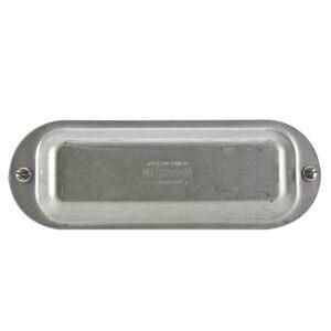 "Appleton K125&150 Conduit Body Cover, 1-1/2"", Form 35, Steel"