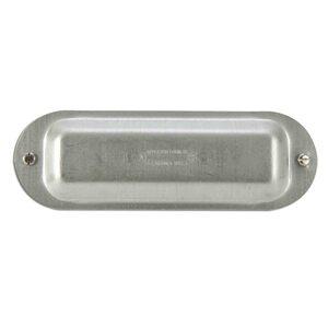 "Appleton K200 Conduit Body Cover, Type: Screw On, Form 35, Size: 2"", Steel"