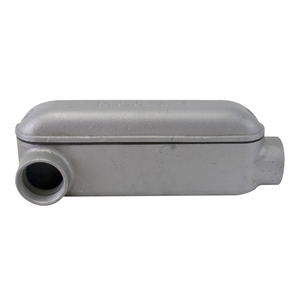 "Appleton L27 Conduit Body, Type: L, Size: 3/4"" Form 7, Malleable Iron"