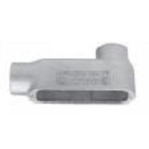 """Appleton LB-200-D Conduit Body, Type: LB, Size: 2"""", Die Cast Aluminum"""