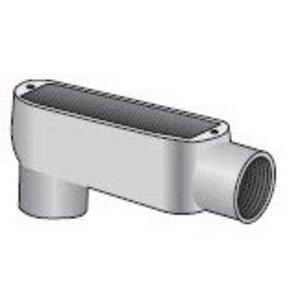 """Appleton LB-50-D Conduit Body, Type: LB, Size: 1/2"""", Die Cast Aluminum"""