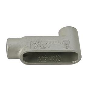 """Appleton LB17SA Conduit Body, Type: LB, Size: 1/2"""", Form 7, Aluminum"""