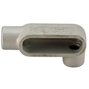 "Appleton LL57SA Conduit Body, Type LL, 1-1/2"", Form 7, Aluminum"