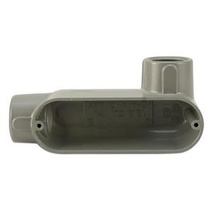 "Appleton LR50A Conduit Body, Type: LR, 1/2"", Form 85, Aluminum"