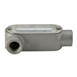 "Appleton LRL50M Conduit Body, Type: LRL, Form 35, 1/2"", Malleable Iron"
