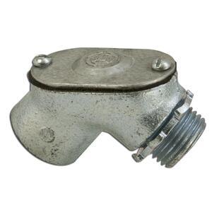 "Appleton MFL-50 Elbow, 90°, 1/2"", Male/Female, Explosionproof, Malleable Iron"