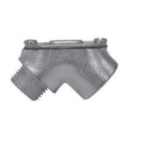 Appleton MFL-75 Elbow, 90°, 3/4 Inch, Male/Female, Explosionproof, Malleable Iron