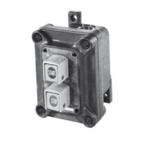 Appleton N1DC75-U2 Pushbutton Station, Non Factory Sealed, 2 Circuit, 2NO/NC Contact