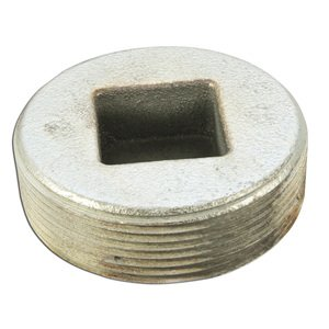 "Appleton PLG-250 Close-Up Plug, Recessed Head, 2-1/2"", Explosionproof, Malleable"