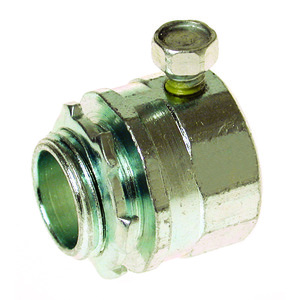 """Appleton SNTC-125 1-1/4"""" Set Screw Connectors. Steel/Malleable, Concrete Tight When Taped"""