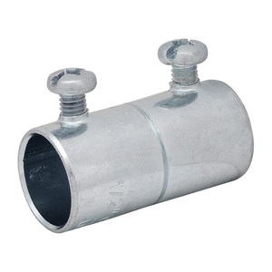 "Appleton SNTCC-100 Rigid Set Screw Coupling, 1"", Steel, Concrete Tight"