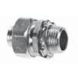 "Appleton ST-50AL Liquidtight Connector, 1/2"", Straight, Aluminum"