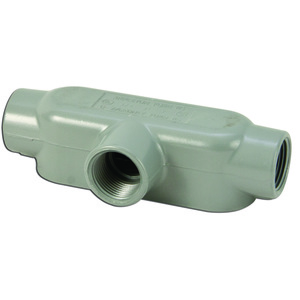 "Appleton T75A Conduit Body, Type: T, 3/4"", Form 85, Aluminum"