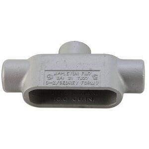 "Appleton TB27SA Conduit Body, Type TB, Form 7, Size: 3/4"", Aluminum"