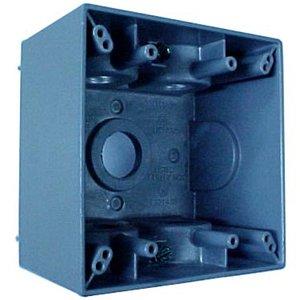 Appleton WDK275 2 Gang Dp Box 7 3/4 In Hubs