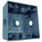 Appleton WSK250 2 Gang Box 7 1/2 In Hubs Xtype