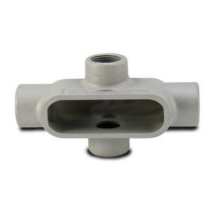 "Appleton X27SA Conduit Body, Type: X, Form 7, 3/4"", Aluminum"
