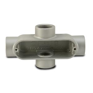 "Appleton X75A Conduit Body, Type: X, FM85, Size: 3/4"", Aluminum"