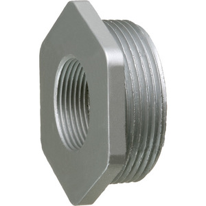 "Arlington 1308 Reducer Bushing, Size: 4 x 3"", Zinc Die Cast"