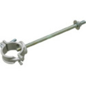 "Arlington 2850 Pipe Support with 10"" Bolt, Mast Size: 2-1/2"", Aluminum"