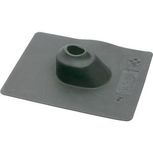 "Arlington 637 Roof Flashing, 3"", 9"" x 11.5"", Black, Neoprene"