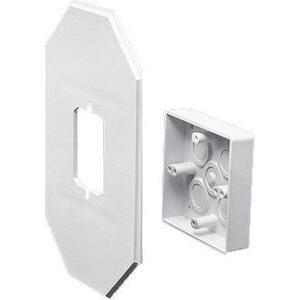 Arlington 8081DBL Siding Box Kit, Vertical, Weatherproof, Non-Metallic