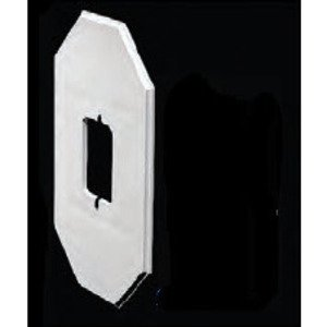 "Arlington 8081FDBLC Siding Box Kit, Depth: 1.25"", 1-Gang, UV Rated Plastic"