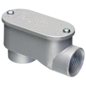 "Arlington 920SLB Conduit Body, Type SLB, 1/2"", Cover/Gasket, Aluminum"