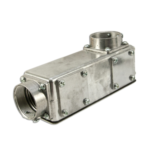 "Arlington 933 Conduit Body, Type: Universal C/LB/LL/LR/T, Size: 1-1/4"", Aluminum"