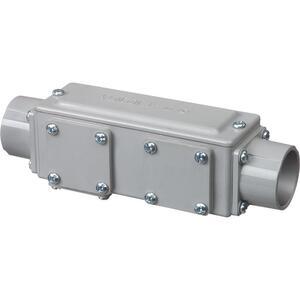 "Arlington 934NM Conduit Body, Type: Universal, Size: 1-1/2"", Material: PVC"