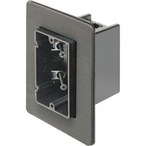 "Arlington F101F Switch Box, 1-Device, 3-1/2"" Deep, Non-Metallic"