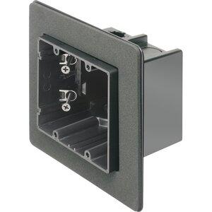 "Arlington F102F Switch Box, 2-Device, 3-1/2"" Deep, Non-Metallic"