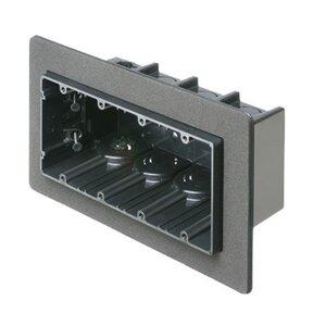 "Arlington F104F Switch Box, 4-Device, 3-1/2"" Deep, Non-Metallic"