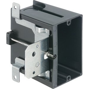 "Arlington FA101 Switch/Outlet Box, 1-Gang, Adjustable Depth: 1/4"" to 1-1/2"""
