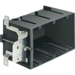 """Arlington FA103 Switch/Outlet Box, 3-Gang, Depth: 3.72"""", Non-Metallic"""