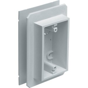 Arlington FS8091F Device Box, Weatherproof, All Siding Types, 1-Gang, Non-Metallic