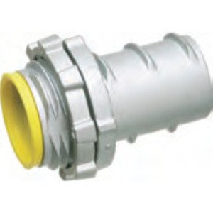 "Arlington GF50A Screw-In Connector, 1/2"", Insulated, Zinc Die Cast"