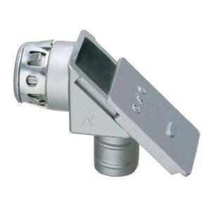 "Arlington GF850ST Flex Connector, Type: Screw-In, 1/2"", 90°, Sliding Cover"