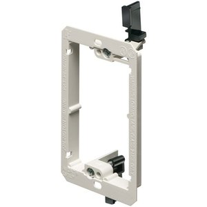 Arlington LV1LP Low Voltage Mounting Bracket, Type: Low Profile, 1-Gang, Non-Metallic