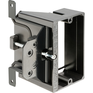 Arlington LVA1 Low Voltage Mounting Bracket, 1-Gang, Adjustable