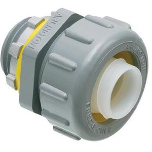 "Arlington NMLT125 Liquidtight Connector, 1-1/4"", Straight, Non-Metallic"
