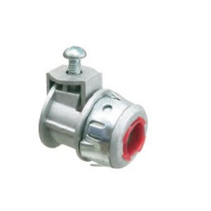 "Arlington SG50AST AC/Flex Snap-Tite Connector, Saddle Type, 1/2"", Zinc Die Cast"