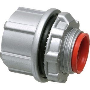 "Arlington WH4 Conduit Hub, 1-1/4"", Insulated, Watertight, Zinc Die Cast"
