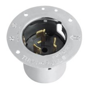 Arrow Hart CS8175 3p 4w 50a 480v Flanged Inlet Calif Style
