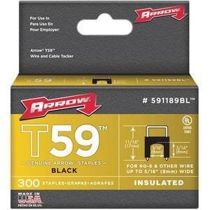 Arrow 591189BL T59 Insulated Staples