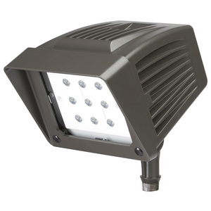 Atlas Lighting Products PFS22LED Flood Light, LED, 21.55W, 120-277V, Bronze