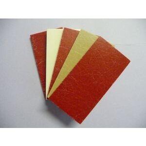 "Aurora Technologies 9214AP06 Glastic Square, 2 x 2 x 1/8"", GPO-3, Red"